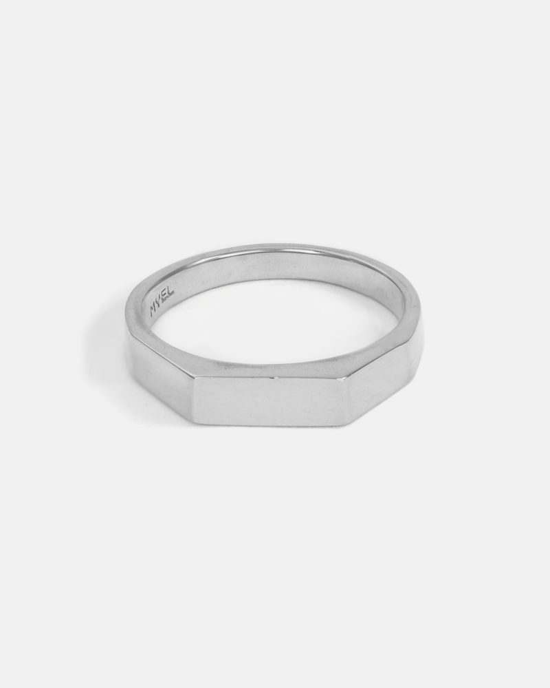 Theory 1 Ring in Silver