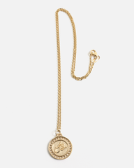 Zodiac Scorpio Necklace in Yellow Gold
