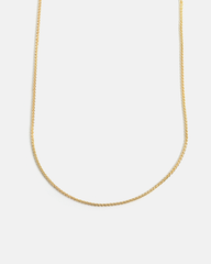 Wheat Chain in 14k Yellow Gold
