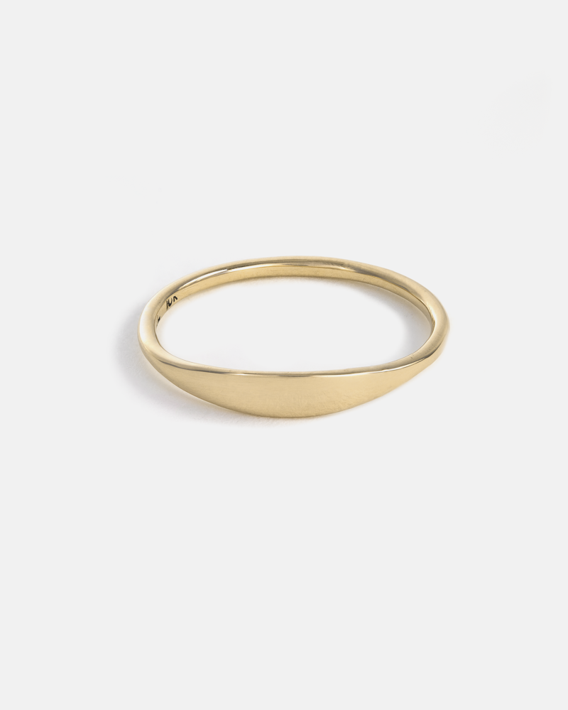 Eole Ring in Yellow Gold