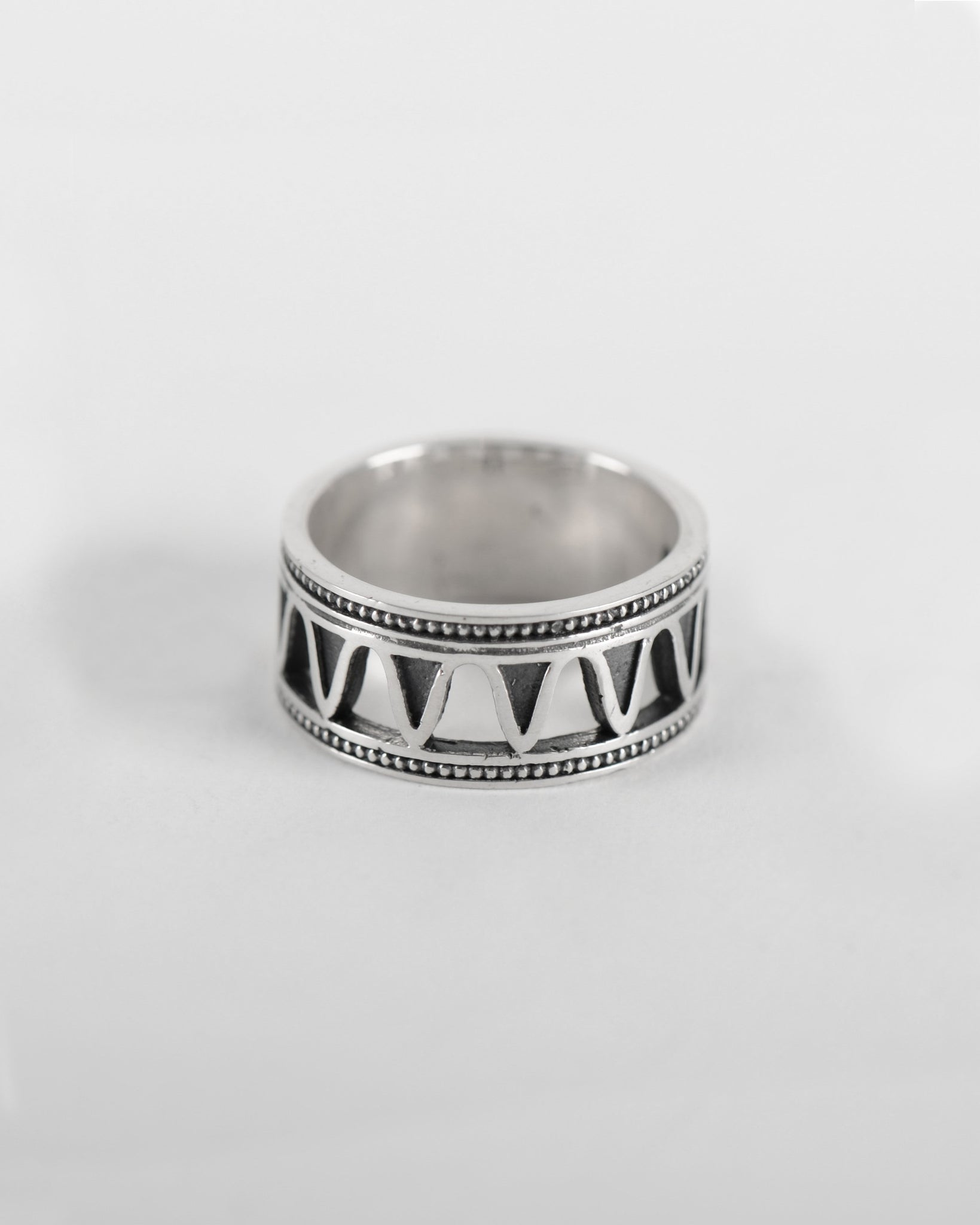 Half Amazon Ring in Silver