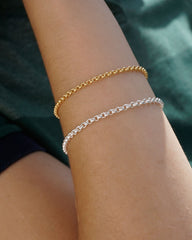 Rolo Bracelet in 10K Yellow Gold