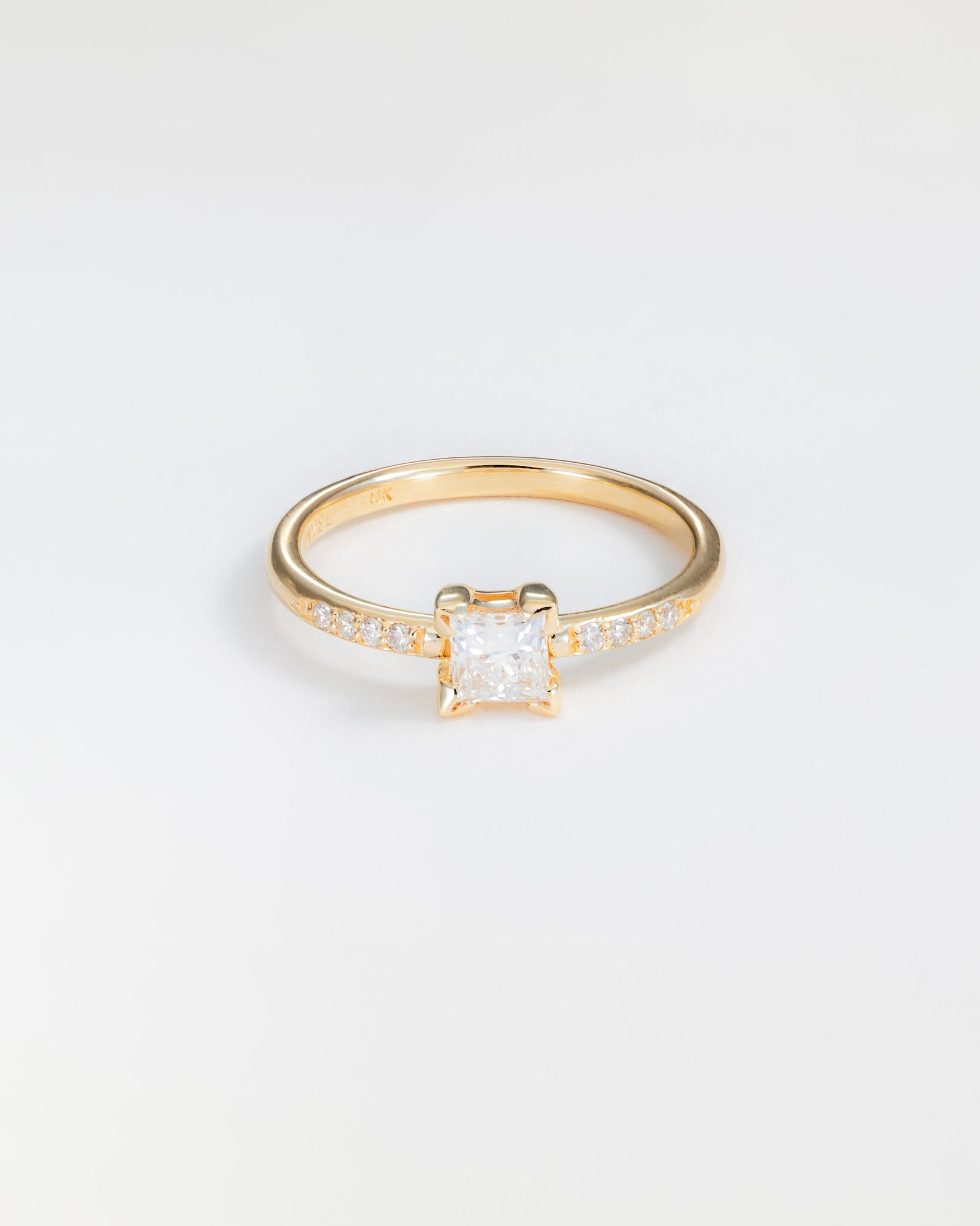 Harmony Ring in Yellow Gold with Diamonds