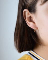 Classic Baby Hoops in Yellow Gold