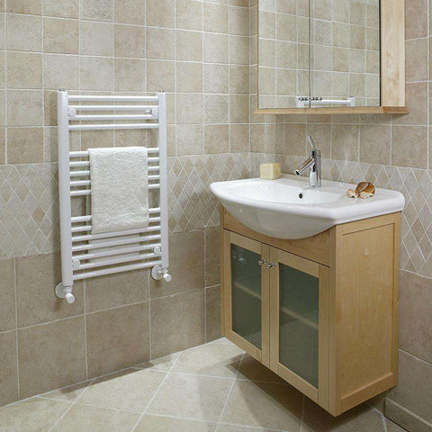 "Tuzio Savoy Hardwired or plug in Towel Warmer - 19""w x 31""h"