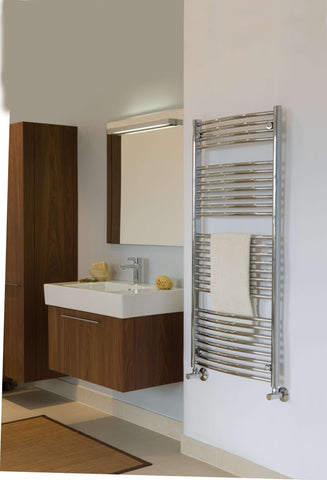 "Tuzio Blenheim Hardwired or plug in Towel Warmer - 29.5""w x 51""h"