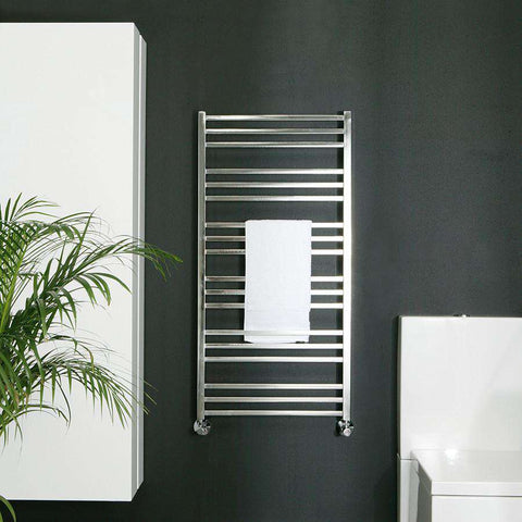 "Tuzio Avento Hardwired or plug in Towel Warmer - 19.5""w x 47.5""h"