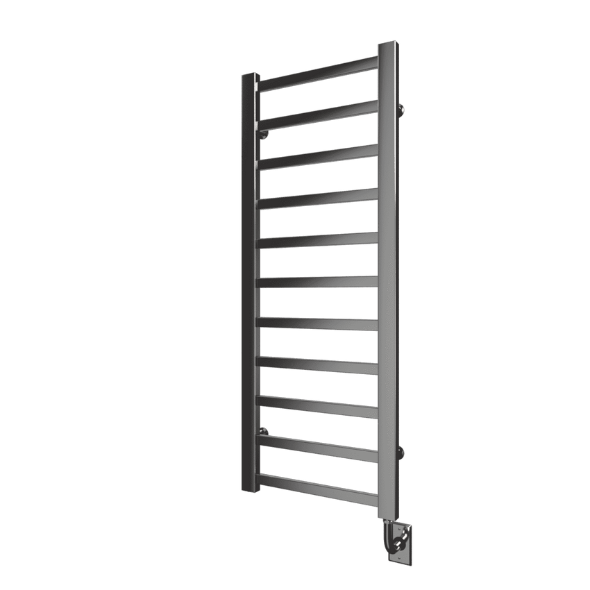 "Tuzio Milano Hardwired or plug in Towel Warmer - 19.5""w x 50.5""h - towelwarmers"