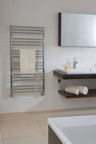 "Tuzio Sorano Hardwired or plug in Towel Warmer - 19.5""w x 47.5""h"