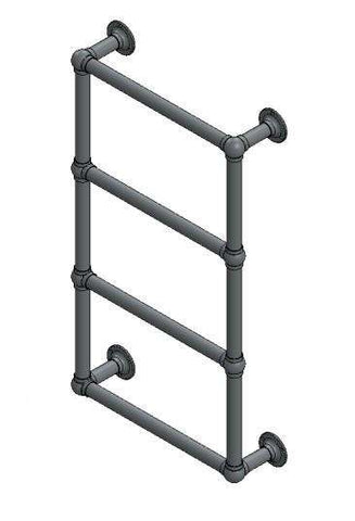 "Sterlingham Stourton/4 Wall Mount Four Rail Towel Warmer  - 21.5""w x 37.5""h"