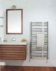 "Tuzio Laveno Hardwired or plug in Towel Warmer - 19.5""w x 47.5""h - towelwarmers"