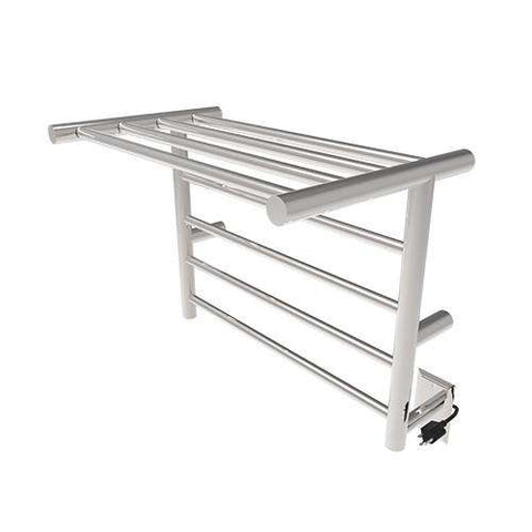 "Amba Radiant Shelf Hardwired & Plug in Towel Warmer - 23 5/8""w x 19""h"
