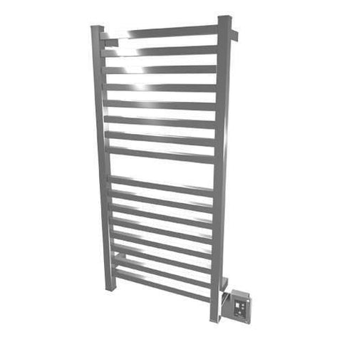 "Amba Quadro Q-2042 Hardwired Mounted Towel Warmer  - 20.5""w x 42.75""h - OnlyTowelWarmers.com - 4"