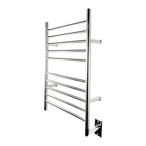 "Amba Radiant Straight Hardwired Towel Warmer - 23.75""w x 31.5""h"
