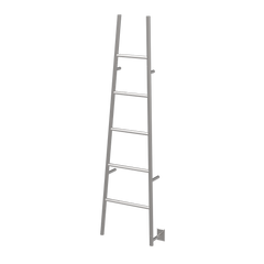 "Amba Jeeves A ""Ladder"" Hardwired Towel Warmer - 20 1/2"" W  x 74"" - towelwarmers"