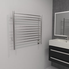 "Amba Jeeves  K Straight Hardwired Towel Warmer - 29.5""w x 27""h"