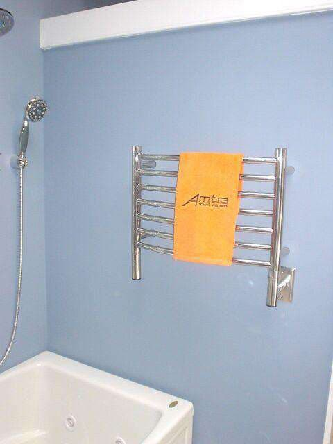 Amba Jeeves H Curved Hardwired Towel Warmer 20 5 Quot W X 18 Quot H