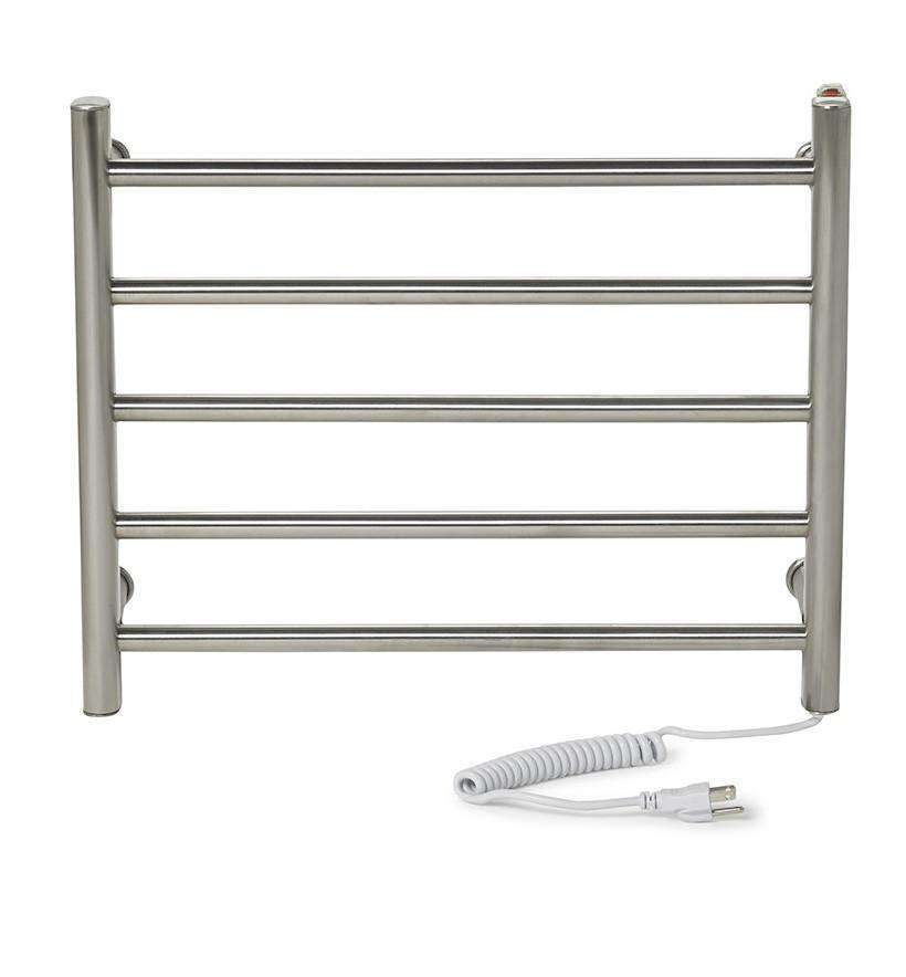 "Myson WDIA05 5 Bar Gem Plug in  Mounted Towel Warmer Plug in- 20""w x 16.75""h - towelwarmers"