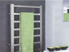 "Tuzio Milano Hardwired or plug in Towel Warmer - 23.5""w x 31""h - towelwarmers"