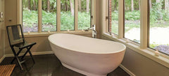 Tyrrell and Laing Slipper Stone Freestanding Soaker Tub - towelwarmers