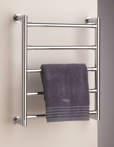 "Sterlingham Tura Wall Mount Five Rail Towel Warmer  - 19.7""w x 24.4""h"