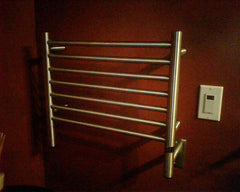 "Amba Jeeves H Straight Hardwired Towel Warmer  - 20.5""w x 18""h - towelwarmers"