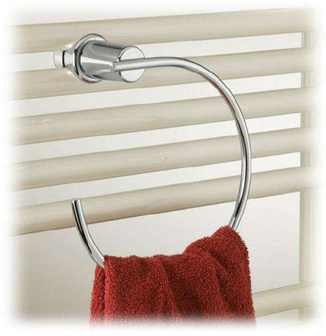 Runtal Neptune Chrome Towel Ring - OnlyTowelWarmers.com
