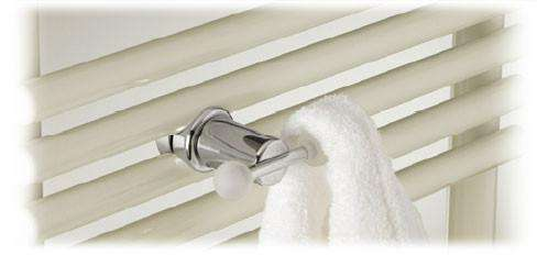 Runtal Neptune Double Robe Knob - towelwarmers