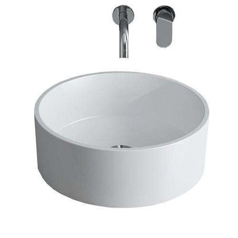 "Calma Bassini Vessel Sink - 16.8""w x 16.8""d"