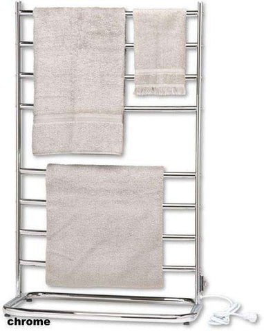 "Warmrails Hyde Park Freestanding Plug in Towel Warmer - 24.25""w x 39""h - OnlyTowelWarmers.com"