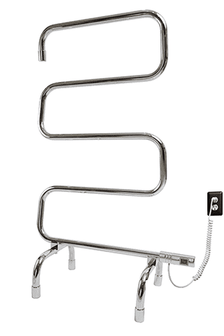 "Myson FSPHR05 5 Bar Gem Plug in Floor Mounted Towel Warmer - 23.8""w x 37.3""h"