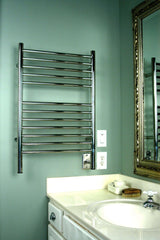 "Amba Jeeves E Straight Hardwired Towel Warmer  -20.5""w x 31""h - towelwarmers"