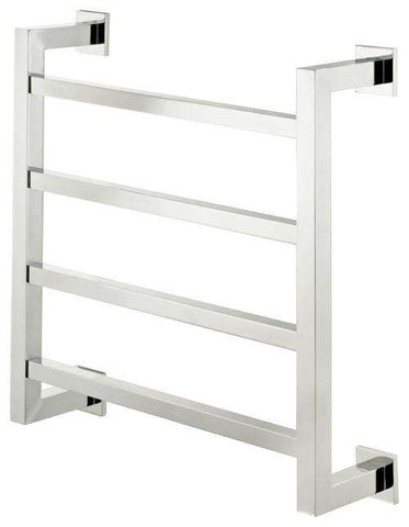 "Sterlingham Wolverley Wall Mount Four Rail Towel Warmer  - 23.6""w x 23.6""h"