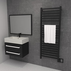 "Amba Quadro Q2054 Hardwired Towel Warmer - 20.5""w x 54.5""h - towelwarmers"