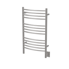 "Amba Jeeves C Curved Hardwired Towel Warmer  - 20.5""w x 36""h - towelwarmers"