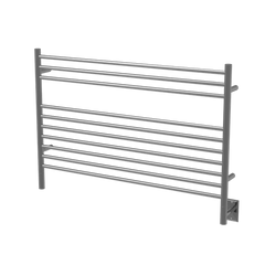 "Amba Jeeves  L Straight Hardwired Towel Warmer  - 39.5""w x 27""h - towelwarmers"
