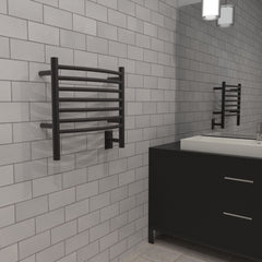 "Amba Jeeves H Curved Hardwired Towel Warmer  - 20.5""w x 18""h - towelwarmers"