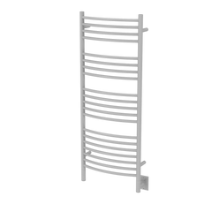 "Amba Jeeves D Curved Hardwired Towel Warmer  - 20.5""w x 53""h - towelwarmers"