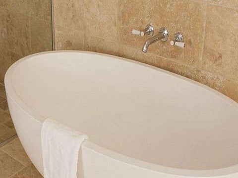 Tyrrell and Laing Petit Stone Freestanding Soaker Tub