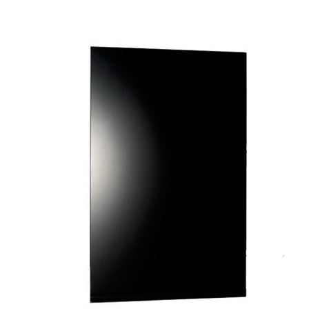 "Warmlyyours IP-EM-GLS-BLK-0800-HW Ember Heating Panel 47"" x 24"" - towelwarmers"