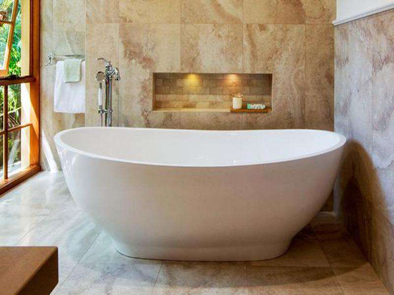 Tyrrell and Laing Slipper Stone Freestanding Soaker Tub