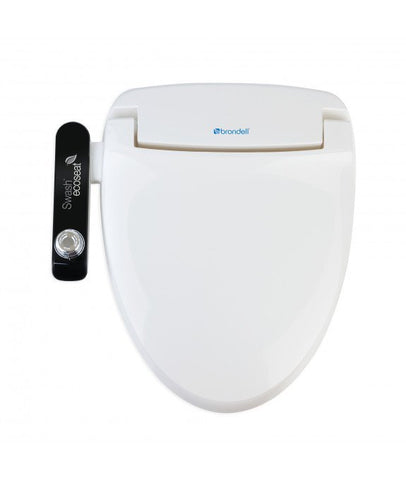 Brondell S100-EW Swash Ecoseat 100 elongated Bidet Toilet Seat-1