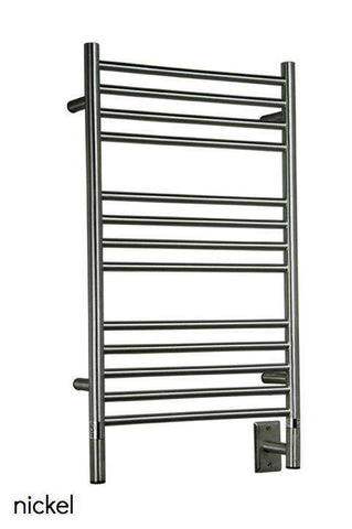 "Amba Jeeves  C Straight Hardwired Mounted Towel Warmer - 20.5""w x 36""h - OnlyTowelWarmers.com  - 1"