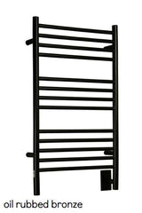 "Amba Jeeves  C Straight Hardwired Towel Warmer - 20.5""w x 36""h - towelwarmers"