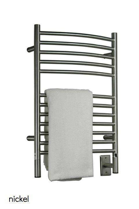 "Amba Jeeves E Curved Hardwired Towel Warmer  - 20.5""w x 31""h - towelwarmers"