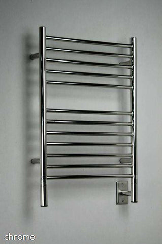 "Amba Jeeves  E Straight Hardwired Mounted Towel Warmer  -20.5""w x 31""h - OnlyTowelWarmers.com  - 1"