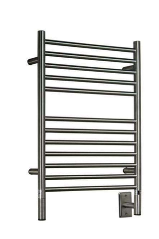 "Amba Jeeves  E Straight Hardwired Mounted Towel Warmer  -20.5""w x 31""h - OnlyTowelWarmers.com  - 6"