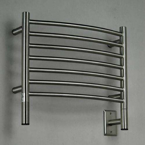 "Amba Jeeves H Curved Hardwired Mounted Towel Warmer  - 20.5""w x 18""h - OnlyTowelWarmers.com  - 1"