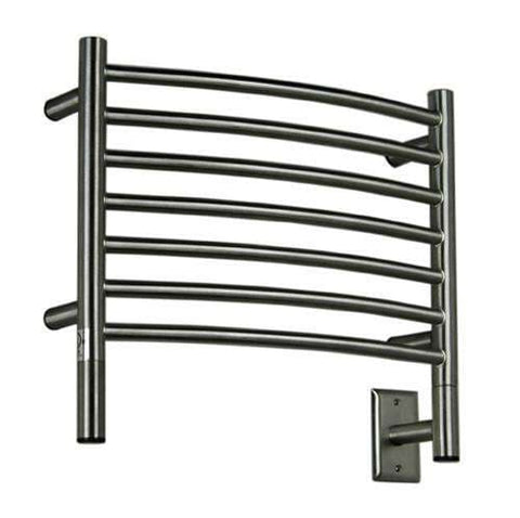 "Amba Jeeves H Curved Hardwired Mounted Towel Warmer  - 20.5""w x 18""h - OnlyTowelWarmers.com  - 4"