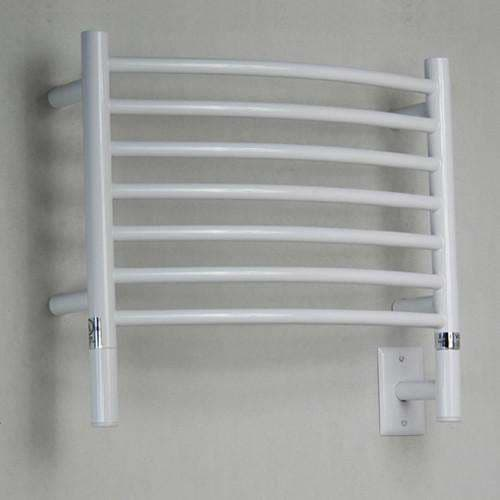 Only Towel Warmers Coupon: Amba Jeeves H Curved Hardwired Towel Warmer